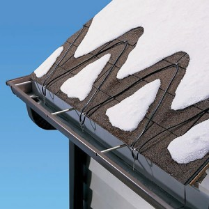 De-Icing Cables for Eaves Trough
