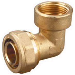 Deelat Compression Fitting - Female Elbow