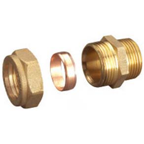 Deelat Compression Fitting for Copper Pipe