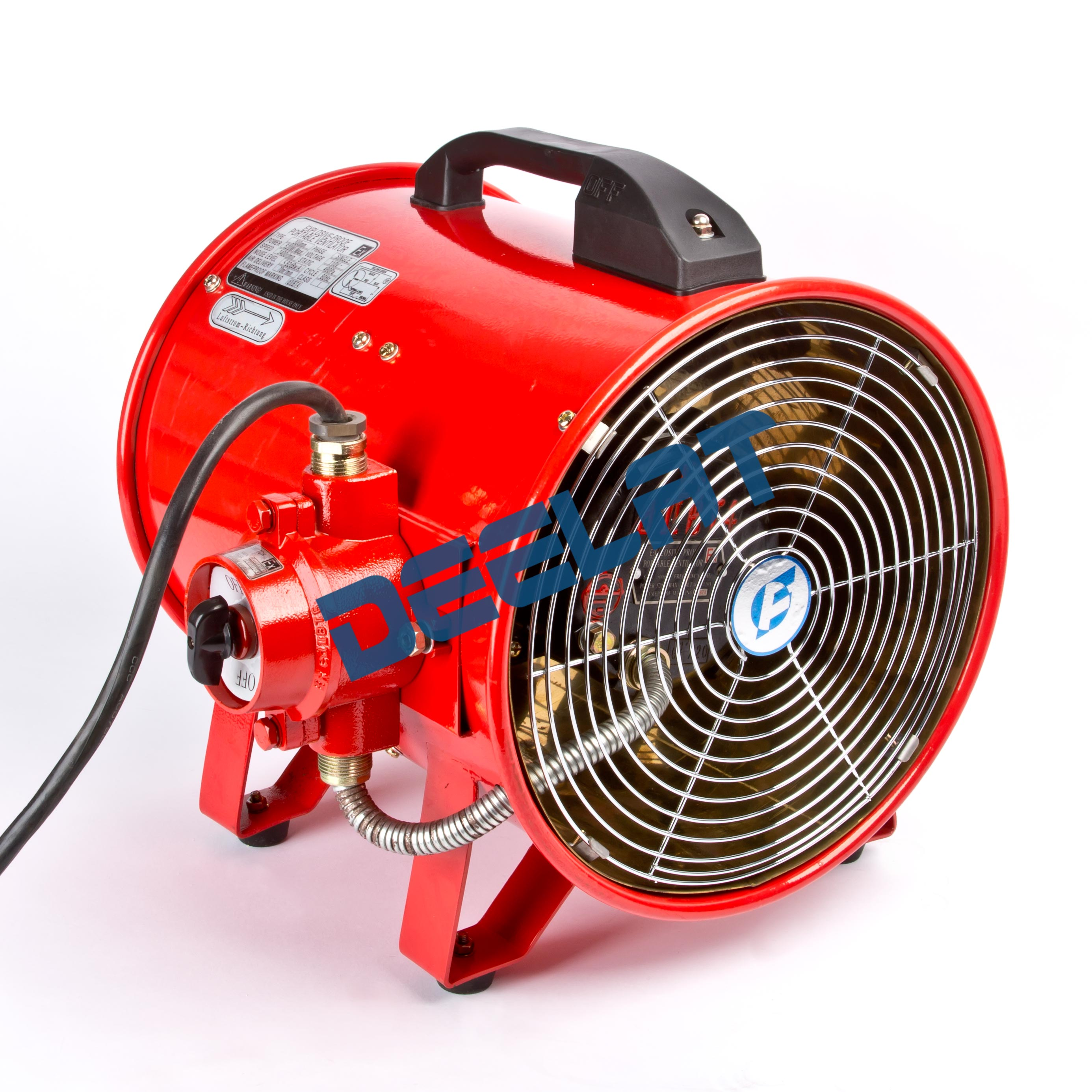 Portable Fan In A Classroom : Deelat category ventilation fans explosion proof