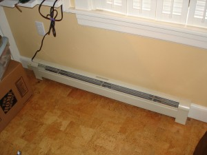 Traditional Electric Baseboard Heater