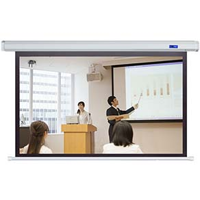 Electric Fiber Glass Projector Screen