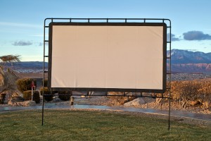 Outdoor Portable Projector Screen