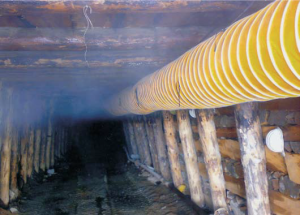 Mining Duct in Action
